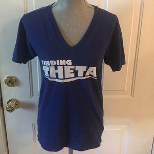 College Of Charleston Theta Sorority Blue T-Shirt